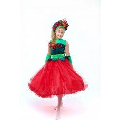 карнавальный костюм Калина, рябина