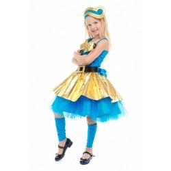 карнавальный костюм Кукла Лол Леди Голд люкс