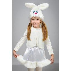 карнавальный костюм  Зайчик, зая, заяц белый