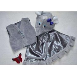 карнавальный костюм   Мышка, мышонок