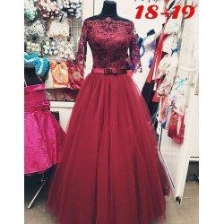 Вечернее платье 18-19