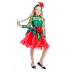 карнавальный костюм Роза, розочка