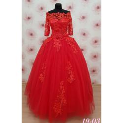 Вечернее платье 19-03