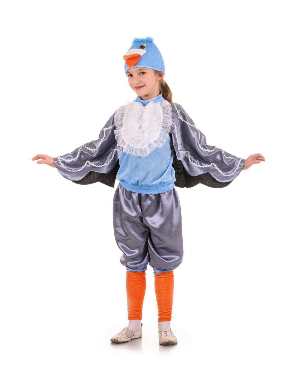 Костюм голубя для мальчика своими руками