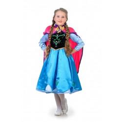 карнавальный костюм Анна Холодное сердце