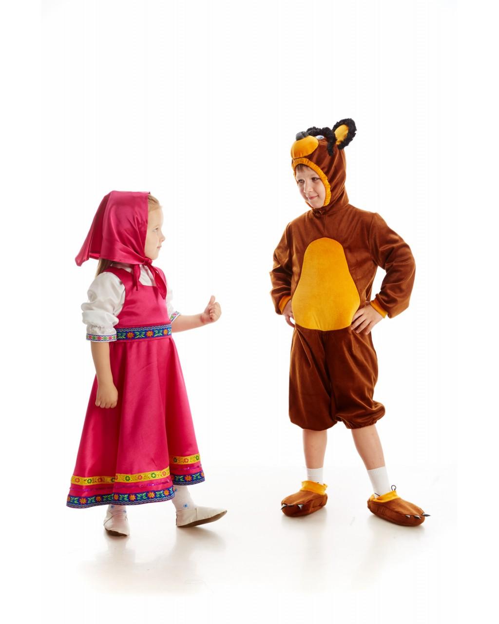 Маша и медведь костюмы своими руками