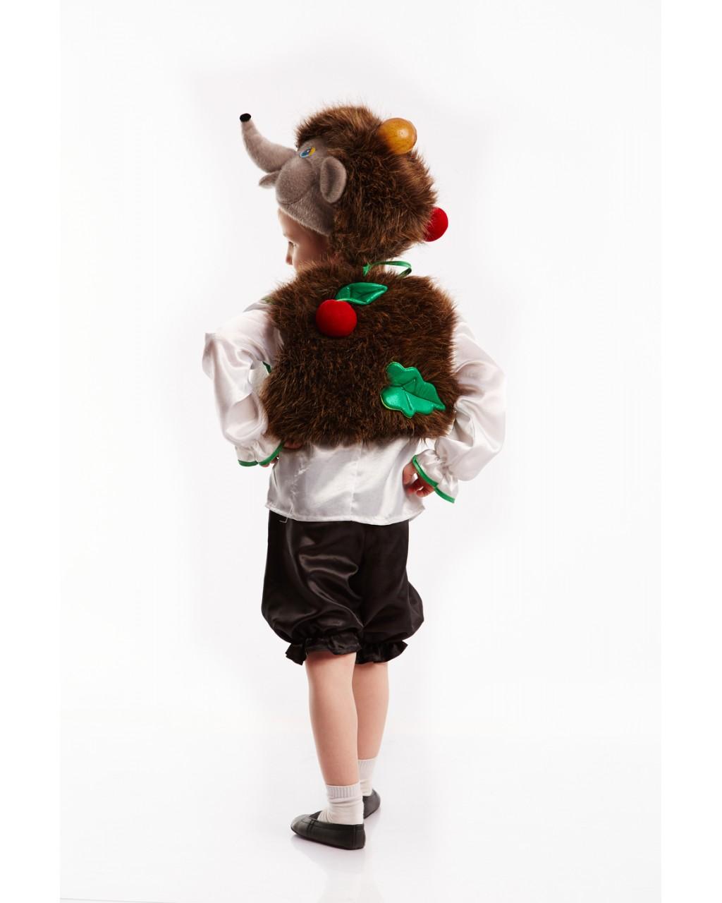 Детские костюмы ежика своими руками
