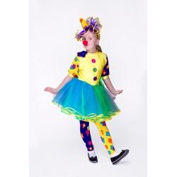 карнавальный костюм Клоун девочка