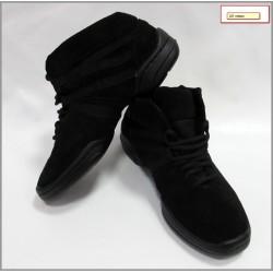 Кроссовки-ботинки №221 замша