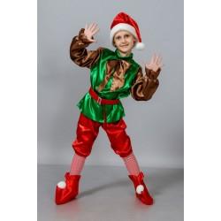 Детский карнавальный костюм гнома лесного