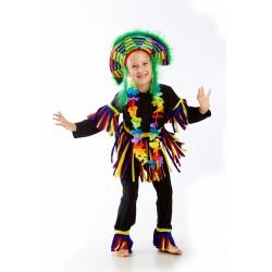 карнавальный костюм Папуас, эфиоп