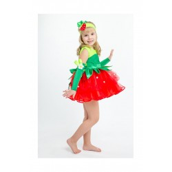 карнавальный костюм Клубника, клубничка, земляника